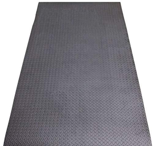 Assemblemat® Floor Protector Equipment impact Mat for Treadmills,Cycles,Rowers Anti-Slip Fitness Mat-Heavy Duty EVA Foam Workout Floor Mat-Multipurpose Mat for Yoga, Pilates, Cross-fit, Core Exercises