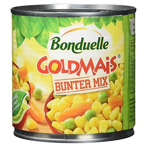 Bonduelle Goldmais Bunter Mix   (1 x 400 g Packung)