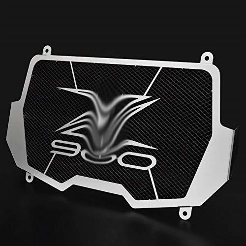 Motocicleta Protector de la Parrilla del radiador Cubierta del Protector/Ajuste for Kawasaki Z900 2017-2020 Rejilla del radiador Protector de la Cubierta del Protector 2018 2019 (Color : Black)