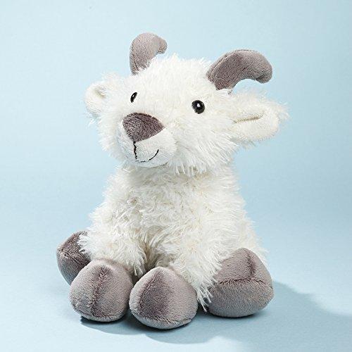 EBO 60554 - Ziege, 18 cm, weiß, sitzend