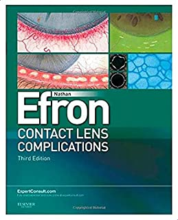 Contact Lens Complicat 3E W/Web By Nathan Efron
