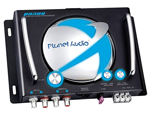 Planet Audio PA300 Digital Bass Processor With Remote Subwoofer Control