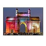 Posters Mumbai India Gate Architektur Leinwand Dekor Poster