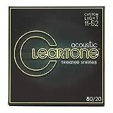 Cleartone Acoustic Guitar Strings (7611)