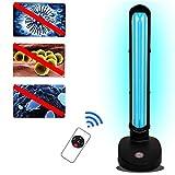 JUYHTY Lampada Germicida UV, Lampada Germicida UV Desktop Portatile da 38 W per Uso Domestico,...