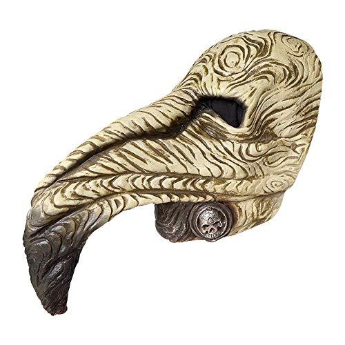 Rainai Plague Doctor Mask Máscara de pájaro Steampunk Peste pájaro Máscara de...