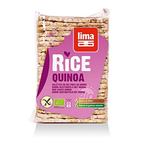 Lima Reiswaffeln Quinoa eckig, 130 g