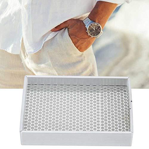 Bandeja de Secado de Relojes Placa de Secado, Herramientas Profesionales Marco de Aluminio Bandeja de Limpieza de Relojes, para Uso doméstico Relojeros Hombres Mujeres Reparación de Relojes