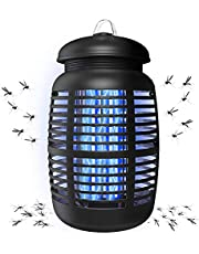 Bug Zapper & Attractant - Effective Electric 220V Mosquito Zappers/Killer - Insect Fly Trap, Waterproof Outdoor/Indoor - Electronic Light Bulb Lamp for Backyard