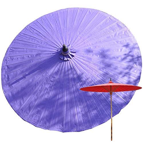 LCYXM 2M Bambus Garten Sonnenschirm, Anti-Ultraviolett, Regenschutz Sonnenschirm, Outdoor Sonnenschirm, Handgefertigte Produkte, Plane Dekorative Umbrella-36 Bambusrippen, Keine Basis