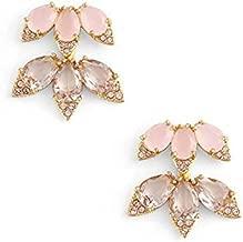 KATE SPADE NEW YORK Blushing Blooms Ear Jackets - Pink Multi