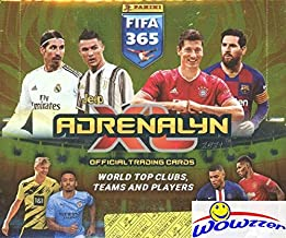 2021 Panini Adrenalyn XL FIFA 365 HUGE 24 Pack Factory Sealed Booster BOX with 144 Cards! Look for Stars Haaland, Ronaldo,...