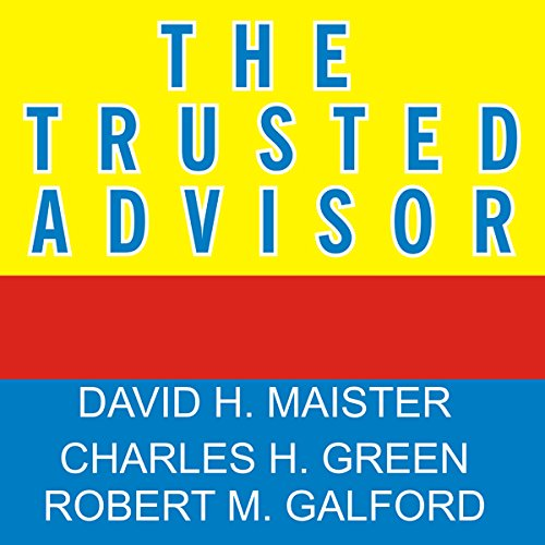 The Trusted Advisor audiobook cover art