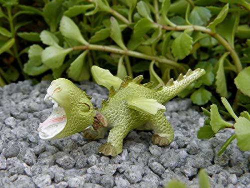UNAMY ST Miniature Dollhouse Fairy Garden   Mini Dragon Roaring Figurine   Yard, Garden, Ornaments, Statues by UNAMY ST