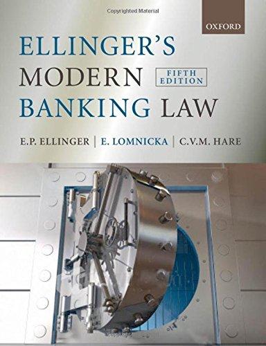 Ellinger\'s Modern Banking Law