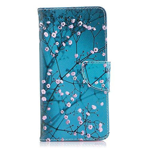 Lomogo Cover Nokia 8 (2017), Custodia Portafoglio in Pelle Porta Carta di Credito con Chiusura Magnetica per Nokia8 2017 - LOBFE11031#8