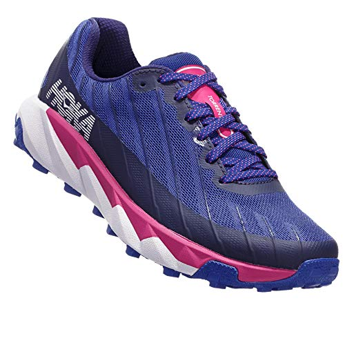 HOKA ONE ONE Womens Torrent Running Shoe, Sodalite Blue/Very Berry, 11 US