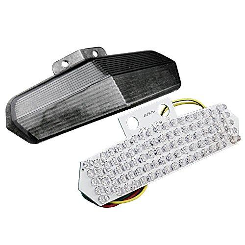 Gzyf fumée LED Tail Light Intégré Turn Signal pour Ducati 749 999 02 03 04 05–07