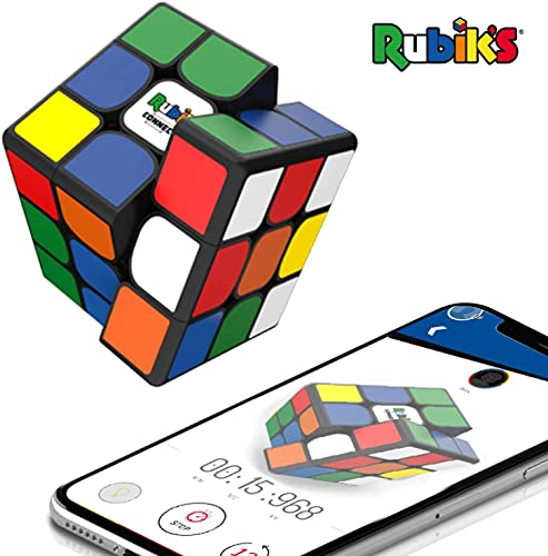 Rubik's Connected - The Connected Electronic Rubik's Cube That Allows You to Compete with Friends & Cubers Across The Globe. App-Enabled STEM Puzzle That Fits All Ages and Capabilities