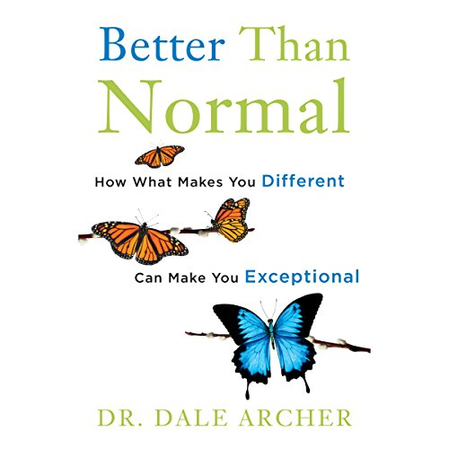 Better Than Normal audiobook cover art