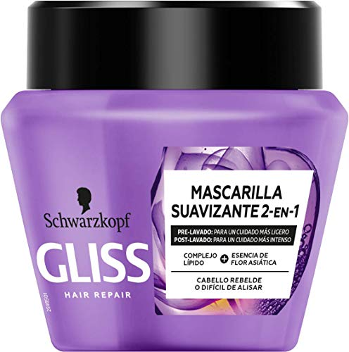 Gliss - Mascarilla Liso Asiático - 300ml - Schwarzkopf