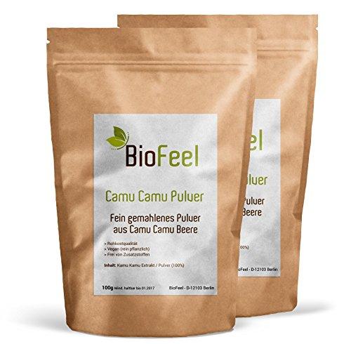 BioFeel - Camu Camu Pulver - 200g - 2er Pack - BIO