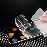 ONEVER Soft pantalla delgada de hidrogel Protectores completa pel¨ªcula de la cubierta para el iPhone X