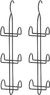 STORAGE MANIAC Hanging Closet Hook for Purses, Ties, Belts, Handbags, Accessories Organizer, 6 Hooks, 2-Pack