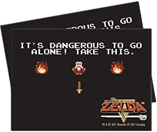 Ultra Pro Legend of Zelda It's Dangerous to Go Alone Deck Protector Sleeves (65 ct.)