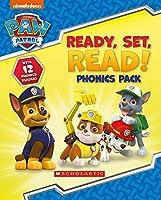 Ready, Set, Read! 12 book phonics box (Paw Patrol)