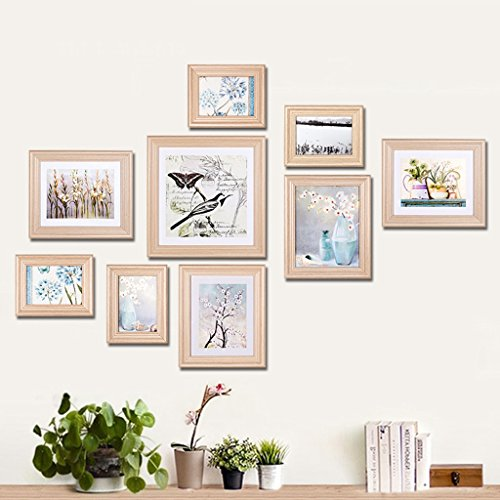 Cadre de Style européen Wall Garden Combinaison Photo Wall Decor Salon Chambre à Coucher -LI Jing Shop