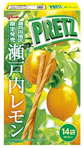 江崎グリコ ジャイアントプリッツ(瀬戸内レモン) 14袋 ×4個