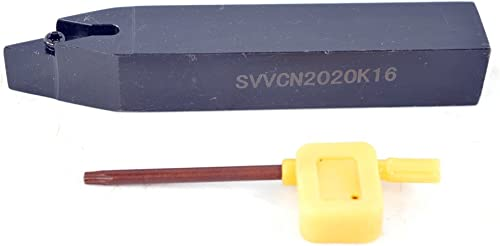 """popular 1PCS Shank Diameter 0.8"""" (20×20 online mm) SVVCN 2020K16 CNC Lathe Indexable Carbide Excircle Turning Tool Holder , Overall length 5"""" lowest (125 mm) outlet online sale"""