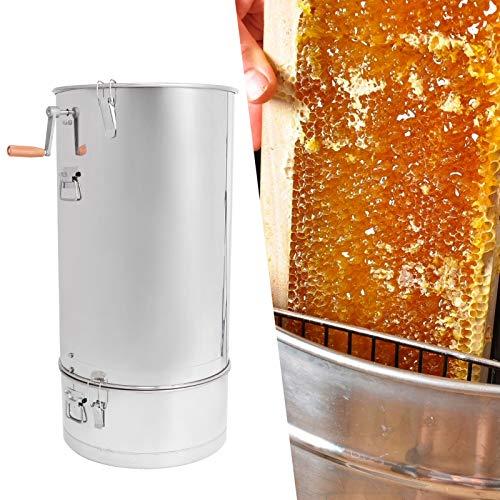Jacksing Estrattore di Miele, separatore per centrifuga per Miele Filtro per Miele Forniture manuali per Apicoltura per Apicoltura