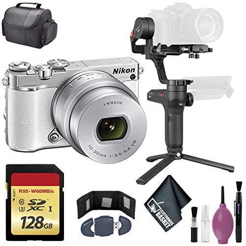 Zhiyun-Tech WEEBILL LAB Handheld Stabilizer - NIKON 1J5 with 10-30MM PD-Zoom White International - 128GB Case