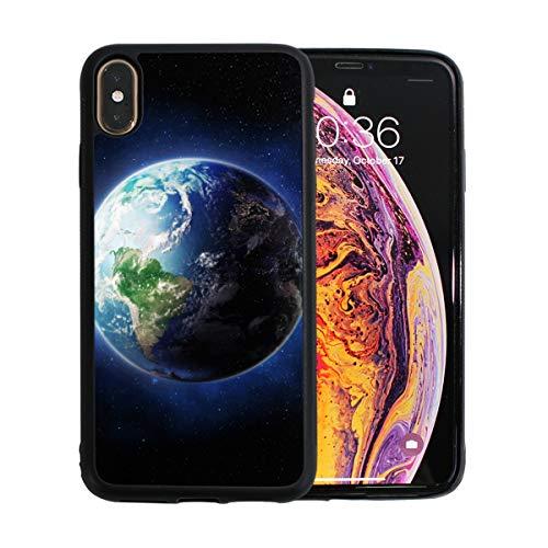 WYYWCY Schöne Erde Menschen Live Apple Telefon Xs Max Case Screen Protector TPU Hard Cover mit dünnen stoßsicheren Stoßfänger Schutzhülle für Apple Telefon Xs Max 6,5 Zoll