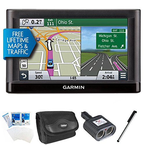 Fantastic Deal! Garmin nuvi 66LMT GPS with Lifetime Maps & Traffic 6 Bundle Includes GPS, Internati...