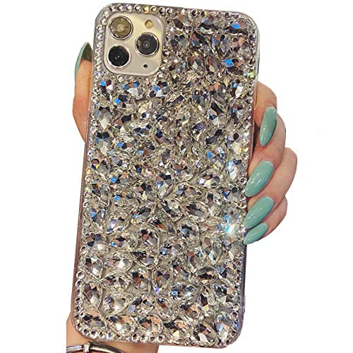 Beautyfull - Funda para ZTE Nubia Z11 MiniS, diseño manual de diamantes completos de cristal Bling Queen, color negro