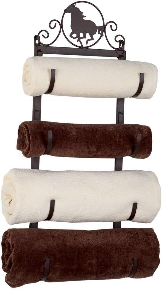 Cheap bargain Western Horse Metal Rack New color Towel
