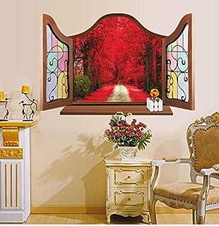 ملصقات جدارية تحمل اقتباس House Rules ملصقات جدارية لديكور المنزل وغرفة المعيشة DIY ملصق قابل للإزالة (النافذة)