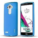 J&D Case Compatible for LG G4 Case, [Drop Protection] [Slim Cushion] Shock Resistant Protective TPU Slim Case for LG G4 Bumper Case - [Not Compatible with LG Stylo 4] - Blue