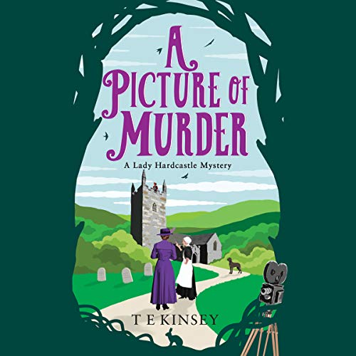 A Picture of Murder audiobook cover art