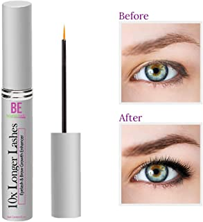 Brazilian Belle Eyelash Growth Serum - Best Lash & Eyebrow Serum on Amazon. Professional Formula for Rapid and Safe Results. Ditch Fake Lashes for Good