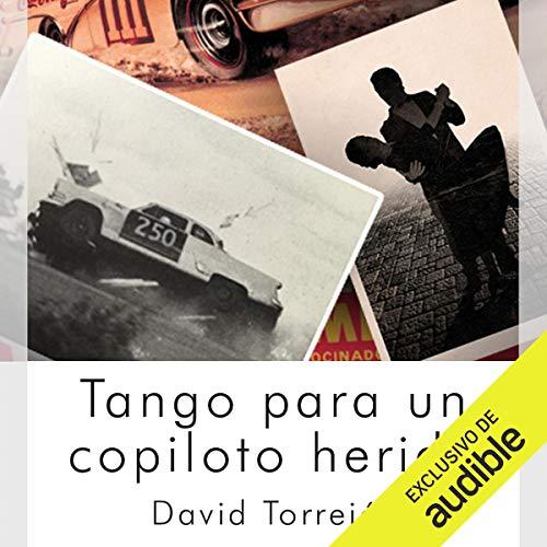 Diseño de la portada del título Tango para un Copiloto Herido