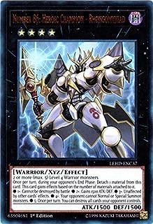 Yu-Gi-Oh! - Number 86: Heroic Champion - Rhongomyniad - LEHD-ENC37 - Ultra Rare - 1st Edition - Legendary Hero Decks - Phantom Knights Deck
