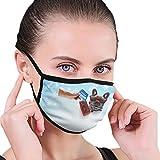 CZLXD - Máscara Antipolvo para Perro Bulldog francés, Antipolvo, máscara de Boca anticontaminación para Hombre y Mujer