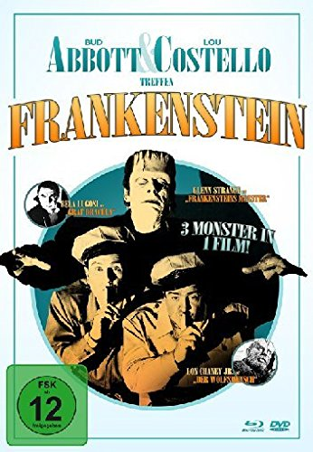 Abbott & Costello treffen Frankenstein - Mediabook  (+ DVD) [Blu-ray] [Limited Collector's Edition]