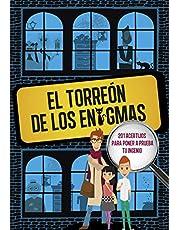El Torreón de los enigmas: 201 acertijos para poner a prueba tu ingenio: 201 acertijos. Enigmas para niños. Para chicos y chicas. Pasatiempos y ... Actividades para aprender en familia