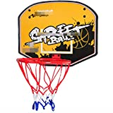 MHCYKJ Mini Canasta De Baloncesto para Casa La Puerta Sistema Interior Aro Juego Montado En Pared Niños con Pelotas Puertas Oficina