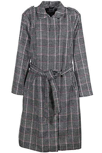 Sheego Kurzmantel Mantel Gehrock Jacke Damen Plusgröße Oversize, Farbe:rot, Damengrößen:50
